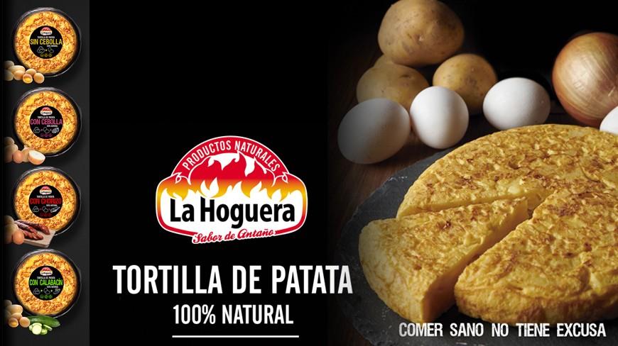 NUEVAS TORTILLAS DE PATATA - 100% NATURAL de Embutidos La Hoguera